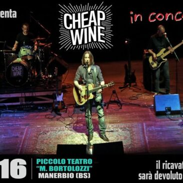 Cheap wine in concert