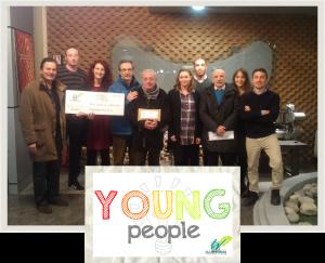 Gennaio 2017: donazione Young People Dimmidisì - Foto di gruppo