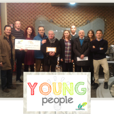 Gennaio 2017: donazione Young People Linea verde – Dimmidisì